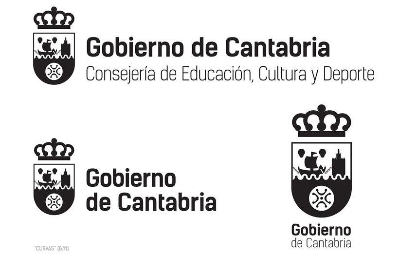 Proyecto de Logotipo para el Gobierno de Cantabria. 2016 1