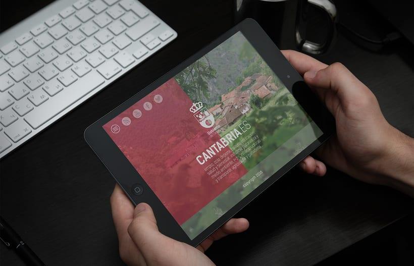 Proyecto de Logotipo para el Gobierno de Cantabria. 2016 3