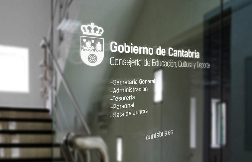 Proyecto de Logotipo para el Gobierno de Cantabria. 2016 6