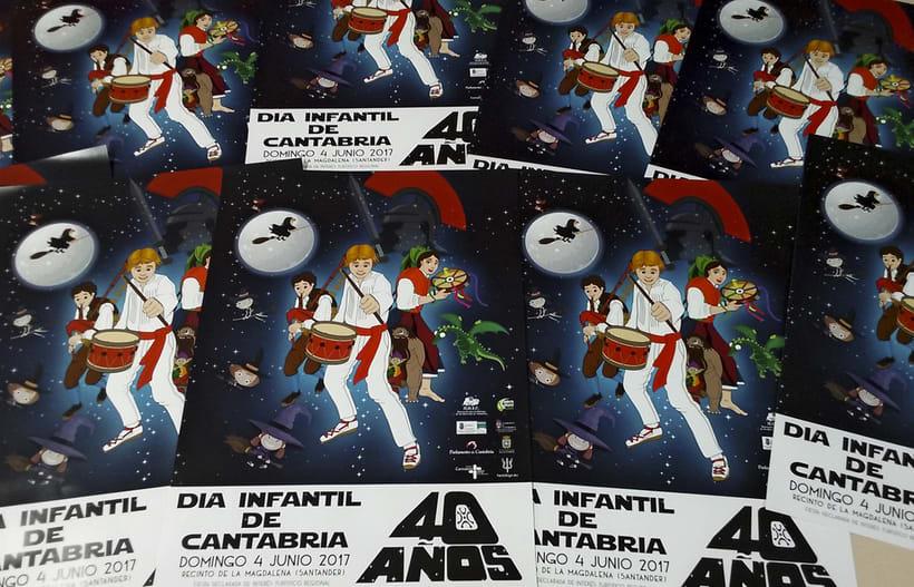 Cartel del Día Infantil de Cantabria 2017 2