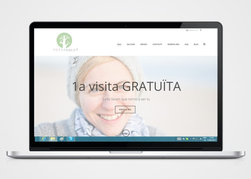 Creación de logo,  página web y copywriting 0