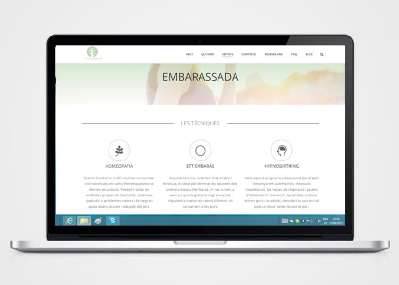 Creación de logo,  página web y copywriting 1