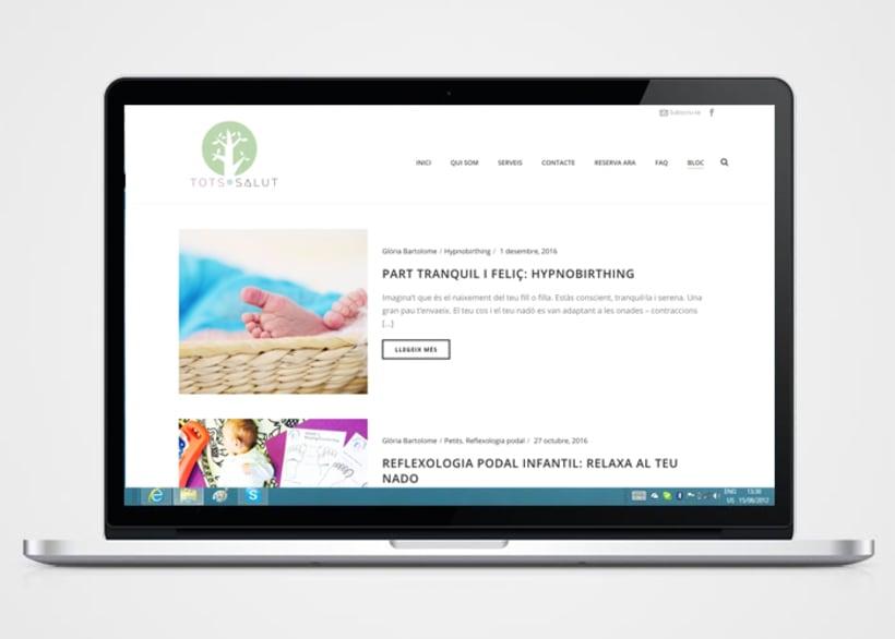 Creación de logo,  página web y copywriting 3