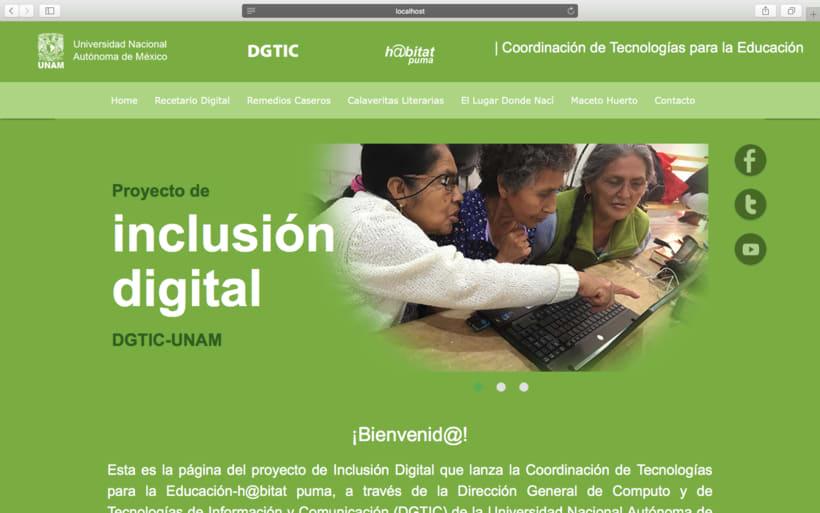 Web h@bitat puma, proyecto de inclusión digital UNAM -1