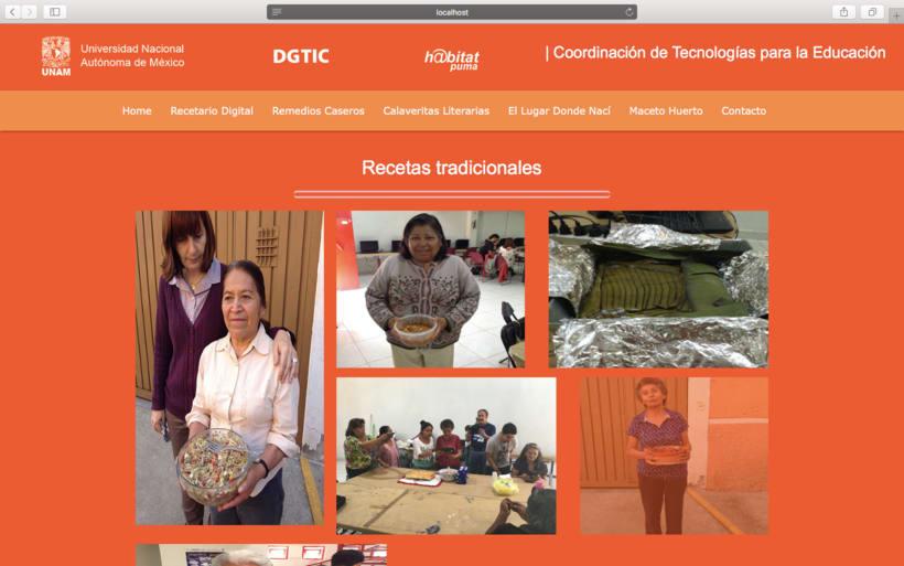 Web h@bitat puma, proyecto de inclusión digital UNAM 1