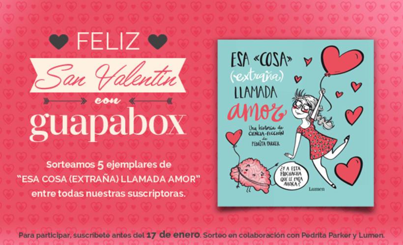 Concurso para Facebook 'Guapabox & Pedrita Parker' -1