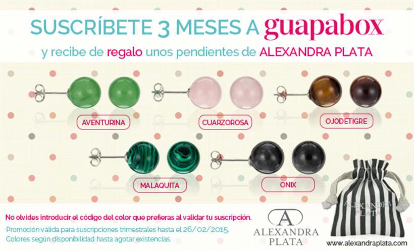 Oferta de suscripción en Facebook 'Guapabox & Alexandra Plata' -1