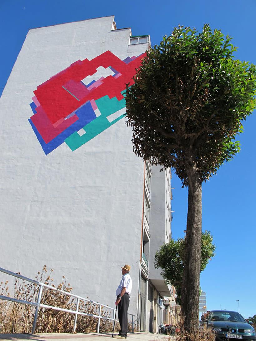 Nuria Mora transforma la ciudad en una jungla de color 3