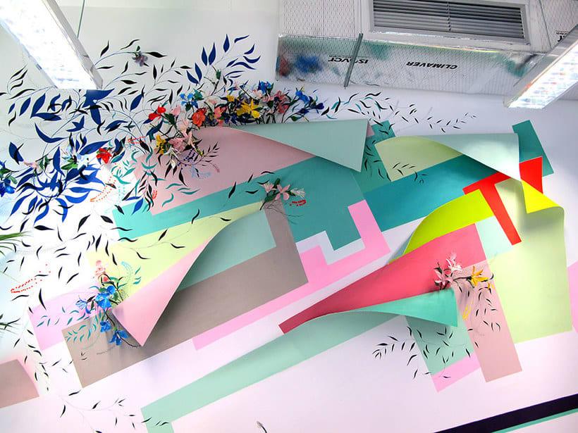 Nuria Mora transforma la ciudad en una jungla de color 7