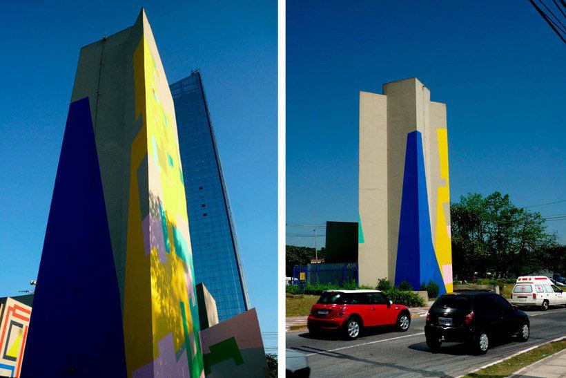 Nuria Mora transforma la ciudad en una jungla de color 9