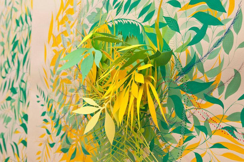 Nuria Mora transforma la ciudad en una jungla de color 11