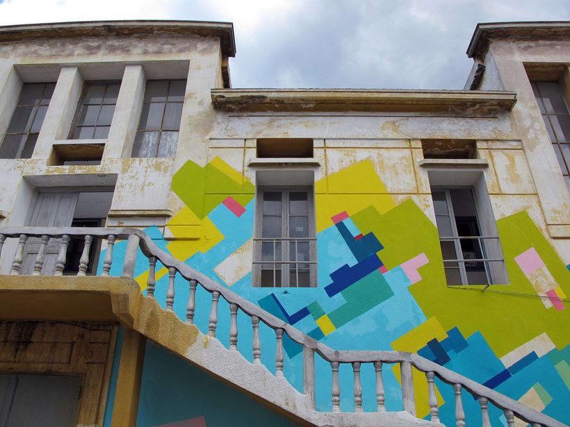 Nuria Mora transforma la ciudad en una jungla de color 12