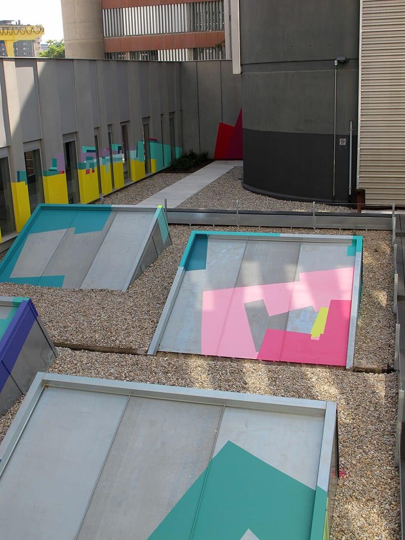 Nuria Mora transforma la ciudad en una jungla de color 13
