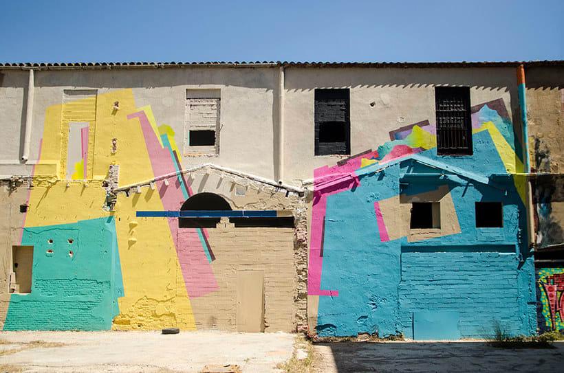 Nuria Mora transforma la ciudad en una jungla de color 17
