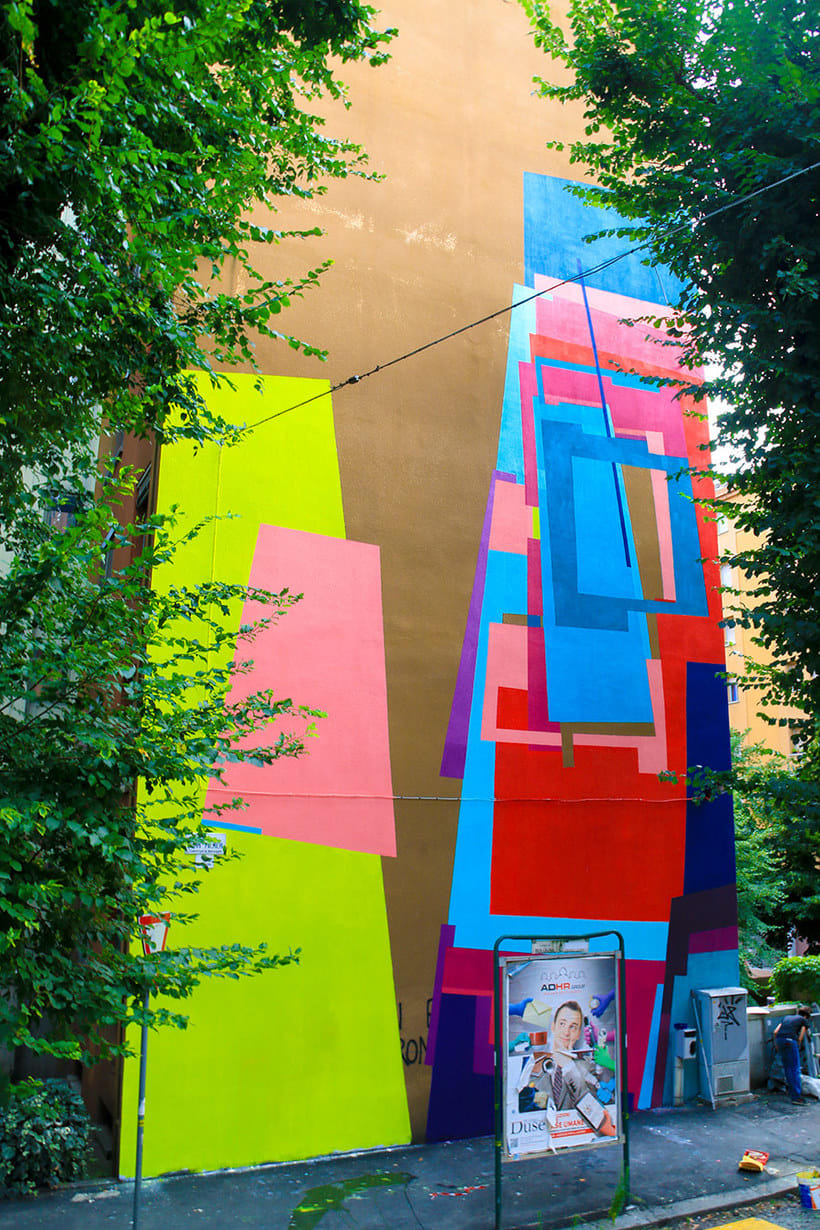 Nuria Mora transforma la ciudad en una jungla de color 19