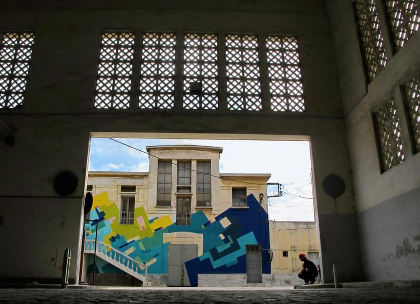 Nuria Mora transforma la ciudad en una jungla de color 20
