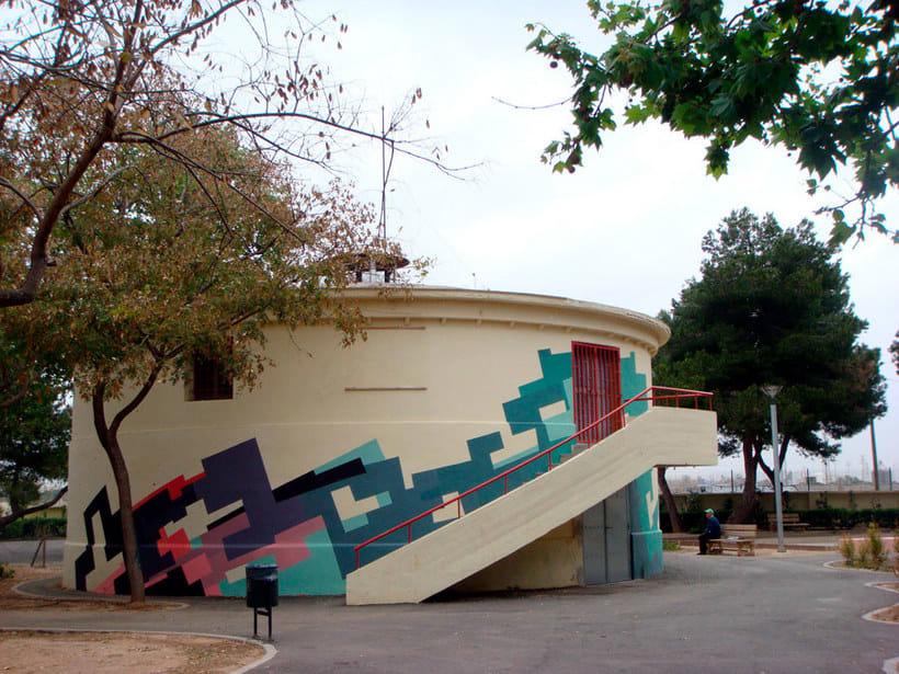 Nuria Mora transforma la ciudad en una jungla de color 22