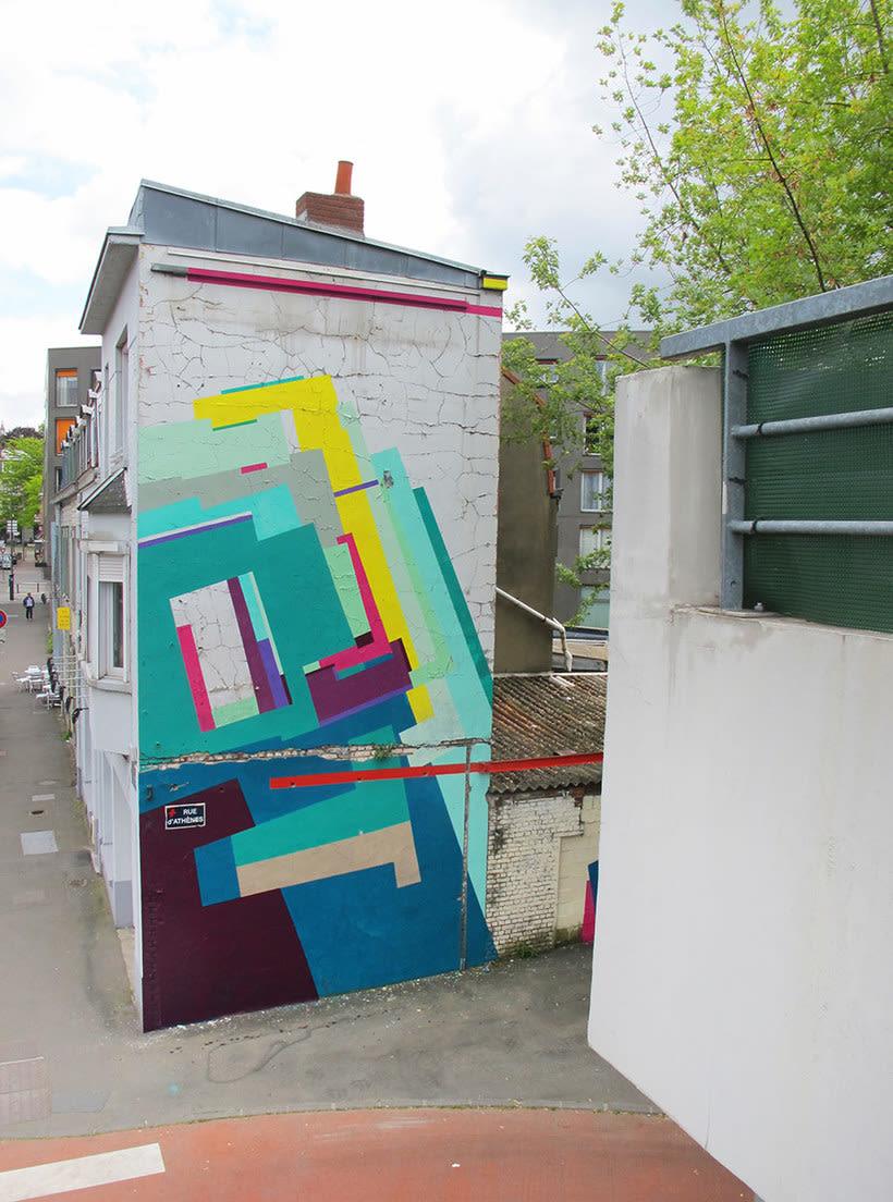Nuria Mora transforma la ciudad en una jungla de color 23