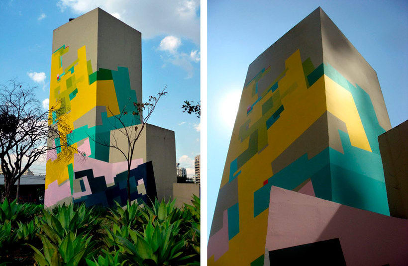 Nuria Mora transforma la ciudad en una jungla de color 25