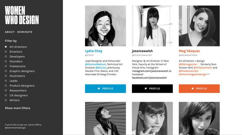 Women who design, un archivo de mujeres diseñadoras 3