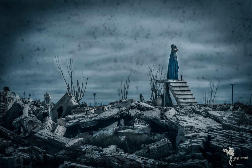 Fotografía y  Edición Digital de Epecuen. By Laly Portesi 1