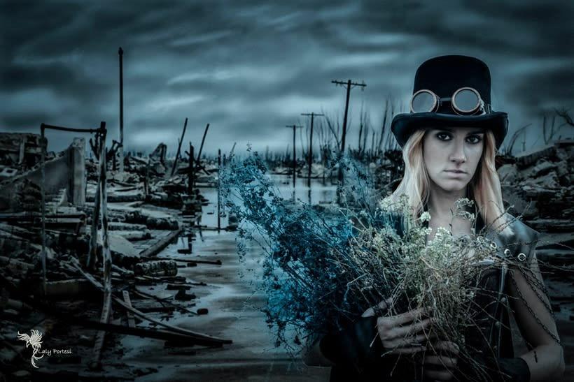 Fotografía y  Edición Digital de Epecuen. By Laly Portesi 3
