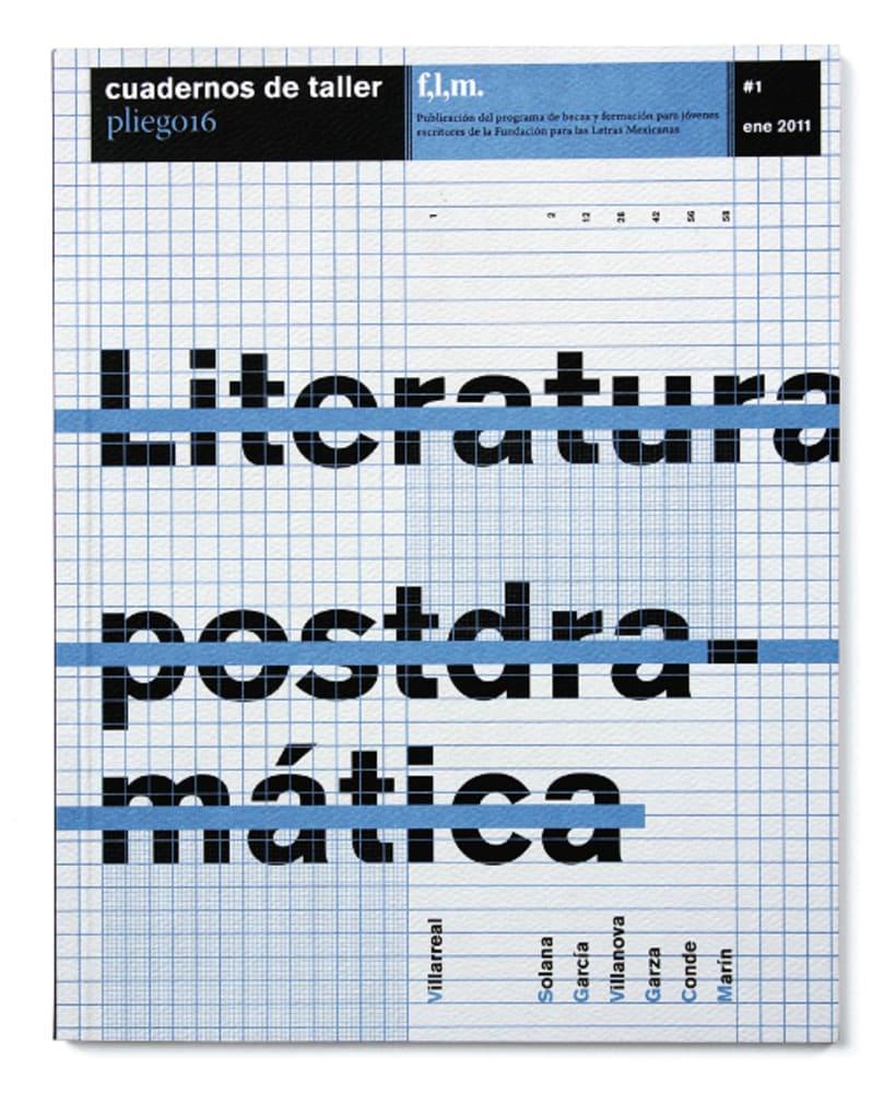 Cuadernos de taller. Pequeña revista literaria de corte experimental. -1