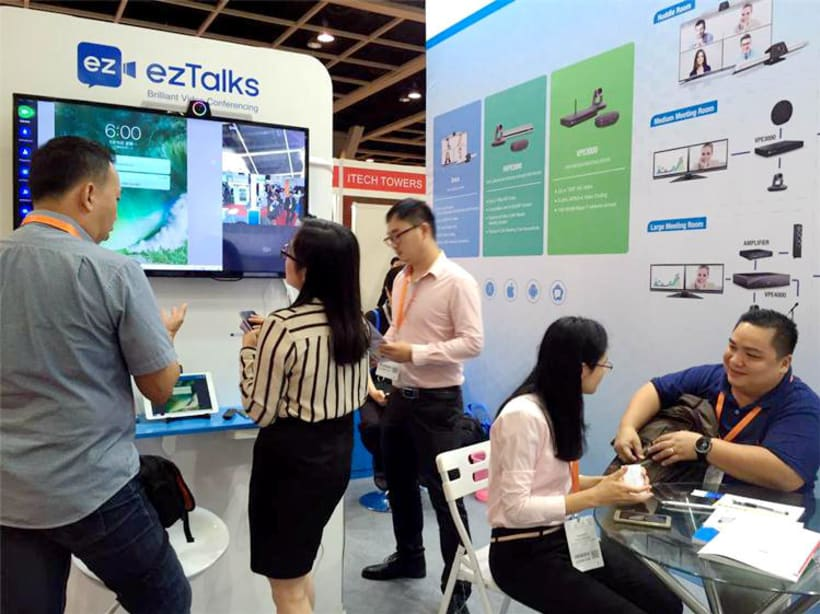 ezTalks Video Conferencing Technology Wins Appreciation at Cloud Expo Asia Hong KongNew project -1
