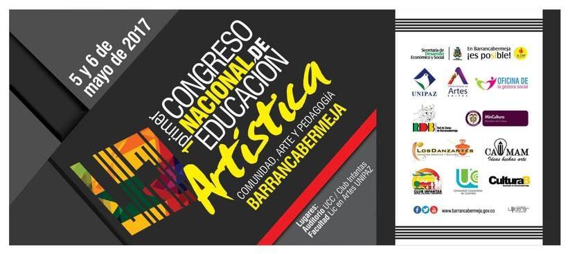 Congreso nacional:  Comunidad, arte y pedagogía. Barrancabermeja  0