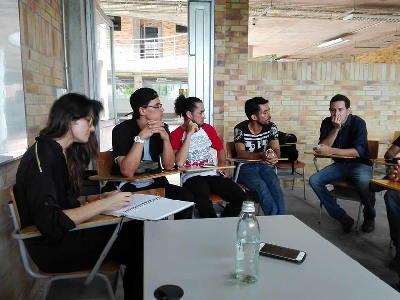 Congreso nacional:  Comunidad, arte y pedagogía. Barrancabermeja  1
