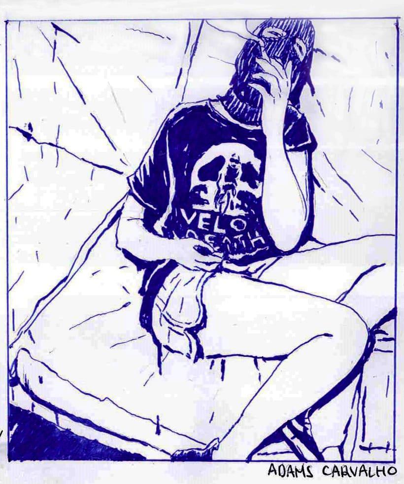 Ilustraciones en bolígrafo  -1