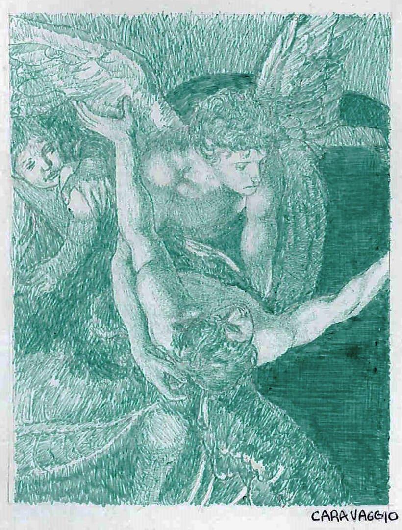 Ilustraciones en bolígrafo  0