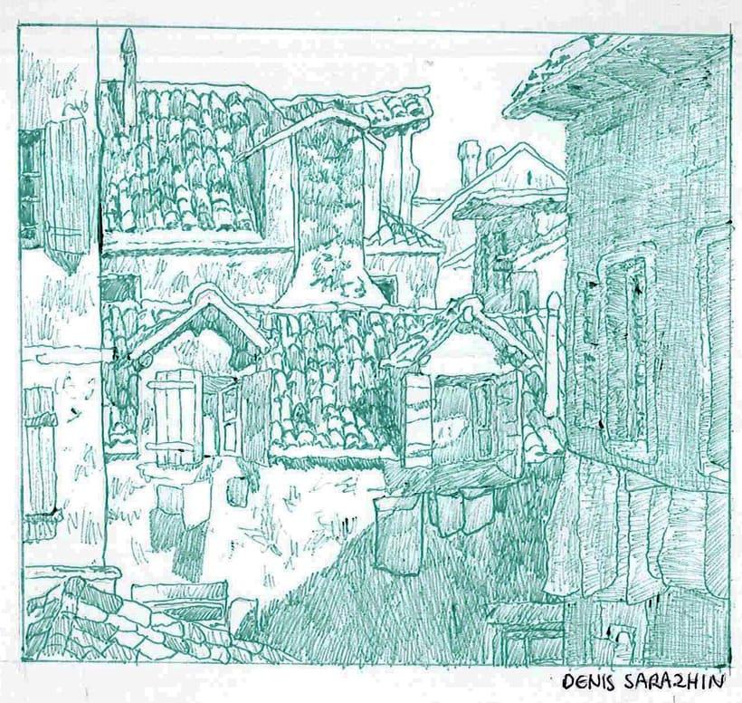 Ilustraciones en bolígrafo  2
