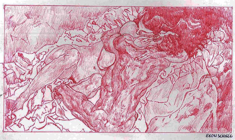 Ilustraciones en bolígrafo  3