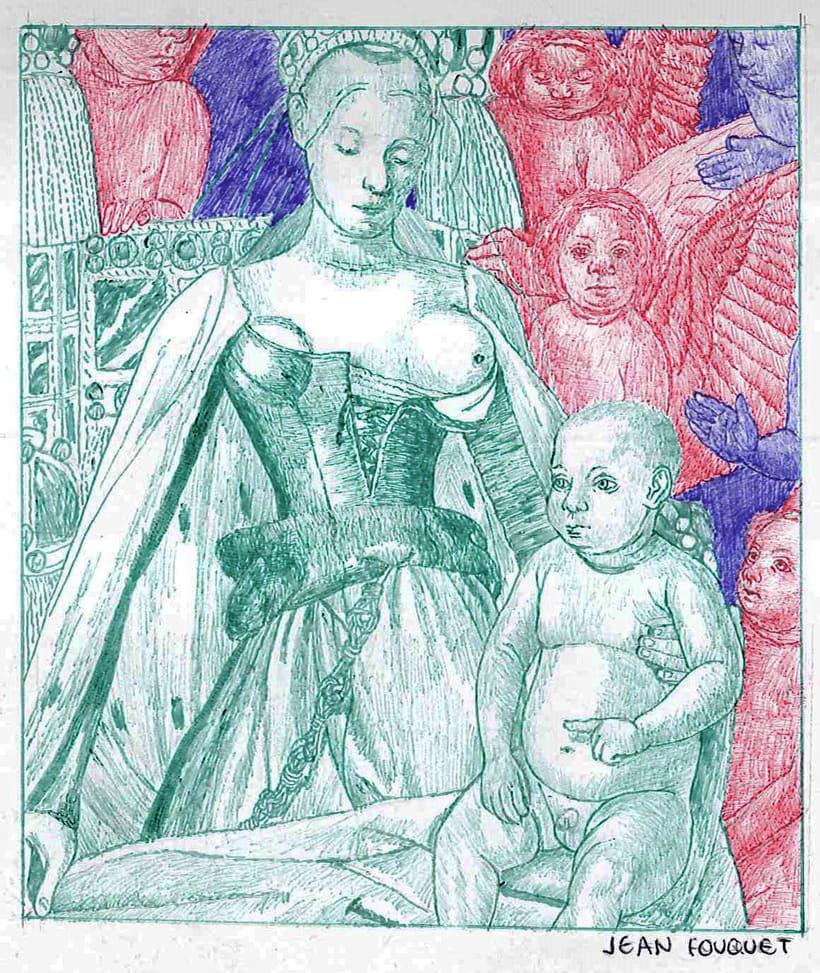 Ilustraciones en bolígrafo  5