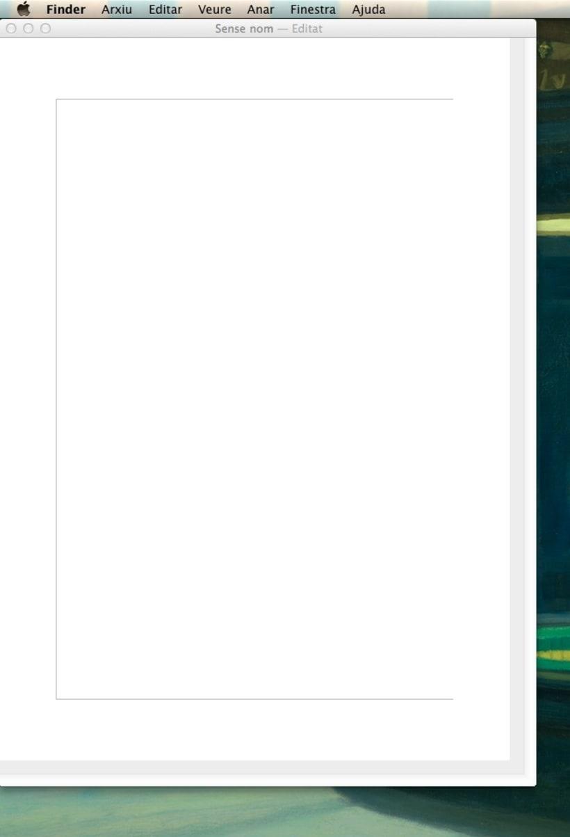 la barra de herramientas de TextEdit ha desaparecido  1