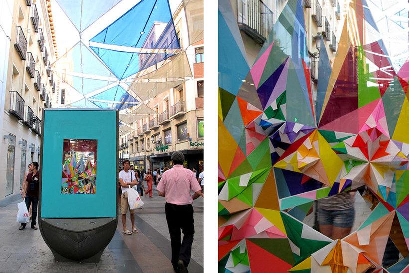 Nuria Mora transforma la ciudad en una jungla de color 14