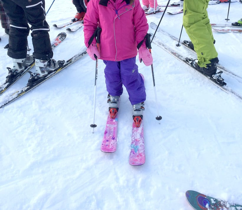 Ilustración para esquís 3