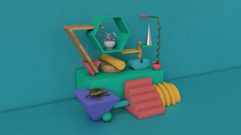 Bodegón 3D - Angelito 0