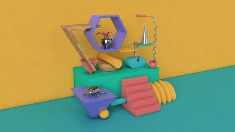 Bodegón 3D - Angelito 1