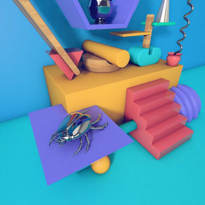 Bodegón 3D - Angelito 2