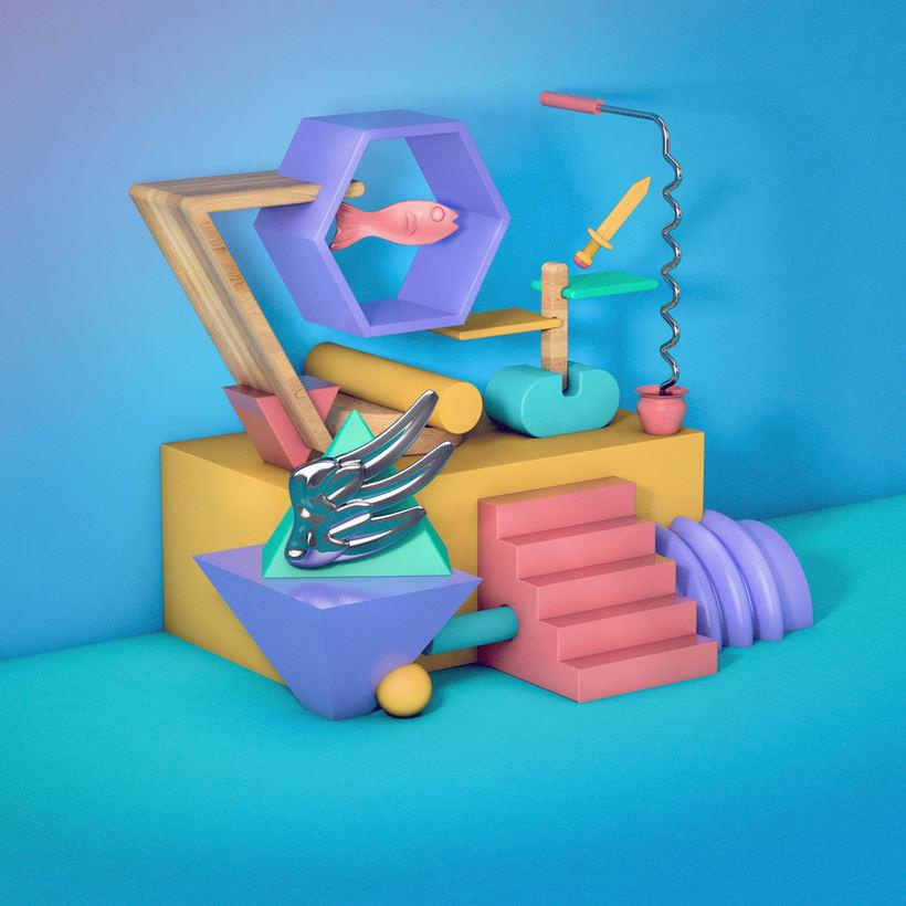 Bodegón 3D - Angelito 3