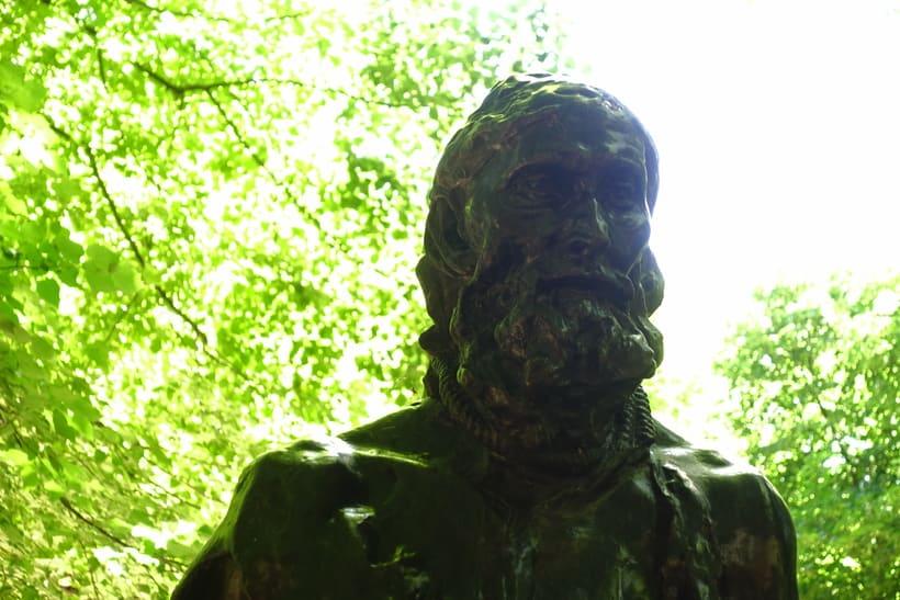 Día en París, museo Rodin.  4