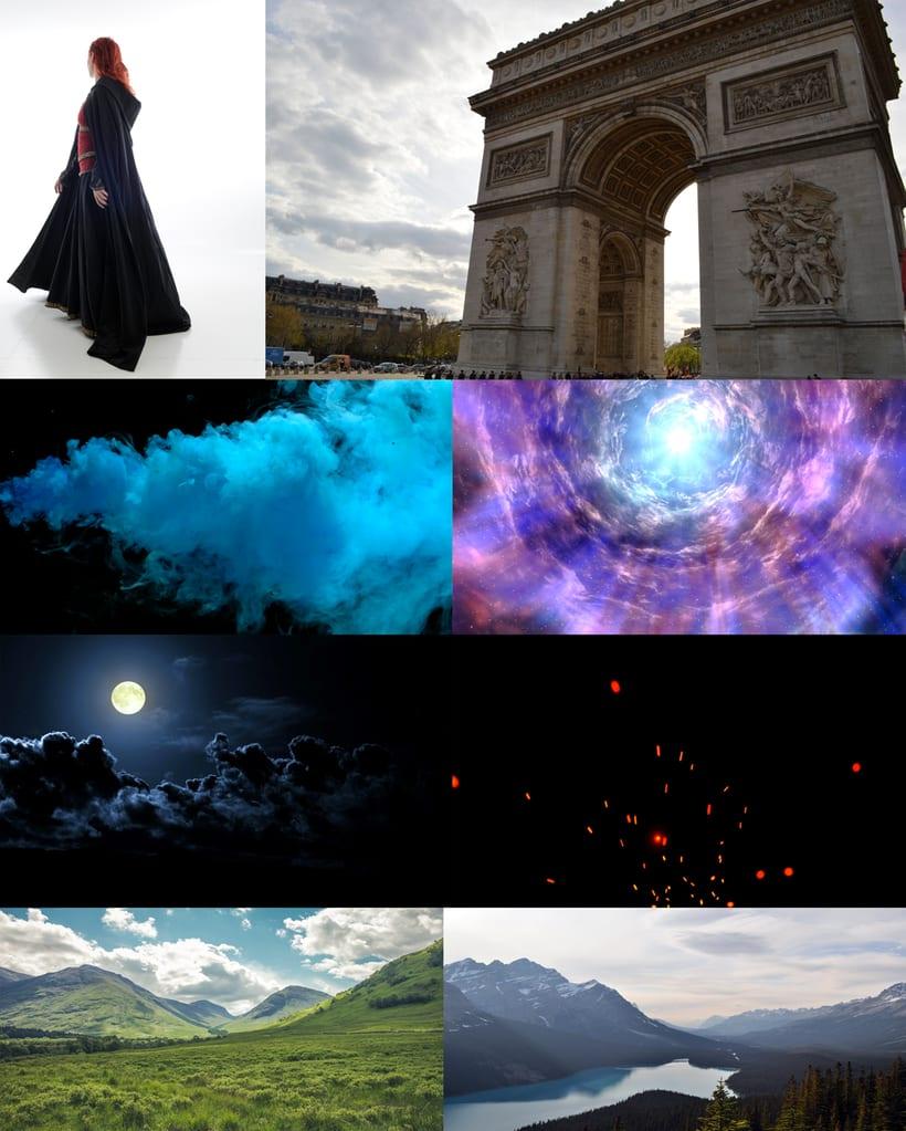 Creando mundos abstractos 1