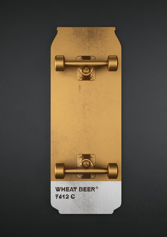 Beer colours skate 7
