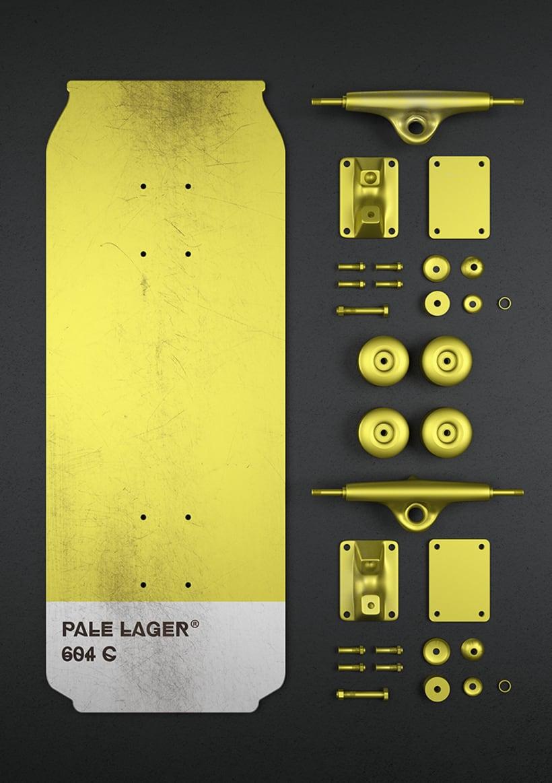 Beer colours skate 19
