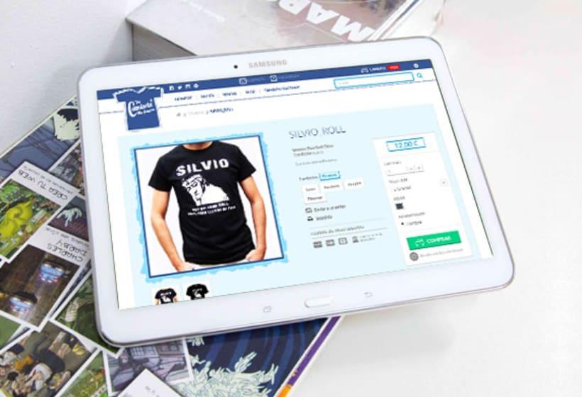 Tu camiseta me suena. Tienda online Prestashop. 1