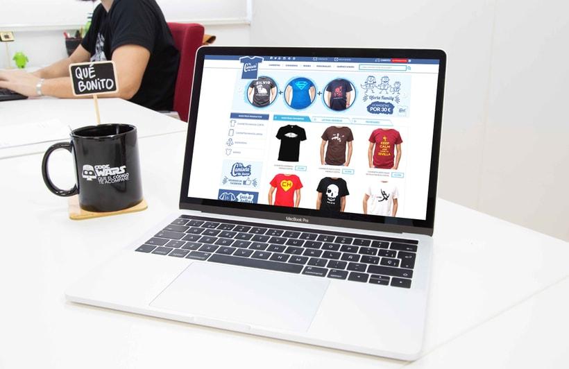 Tu camiseta me suena. Tienda online Prestashop. 0