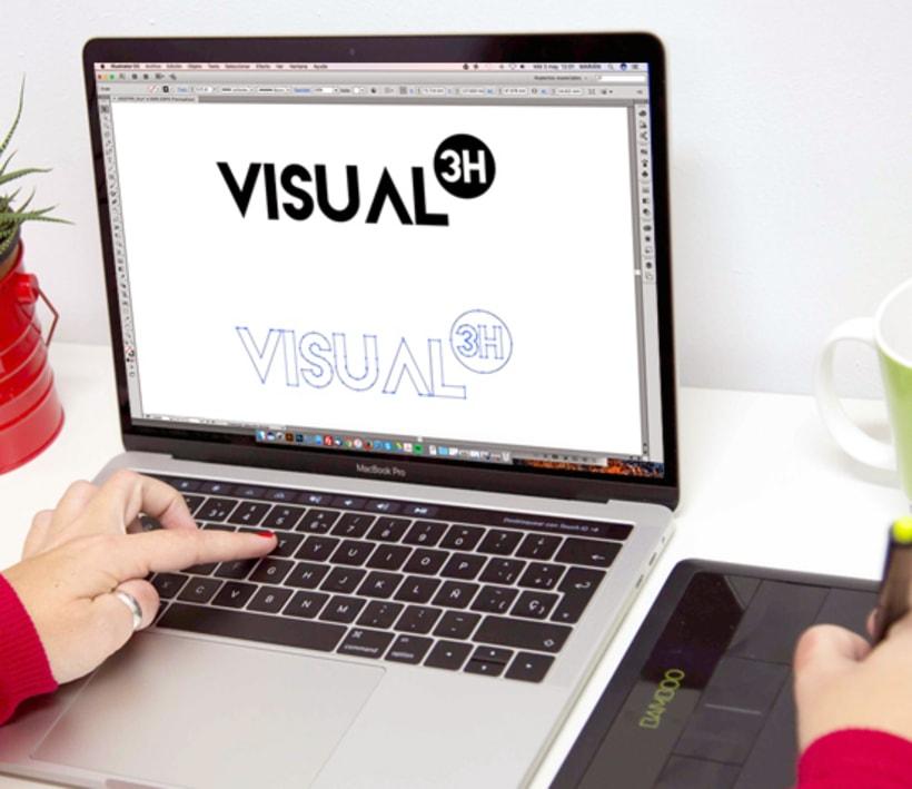 3HVISUAL. Web de fotografía en WordPress. Imagen corporativa y marketing 2