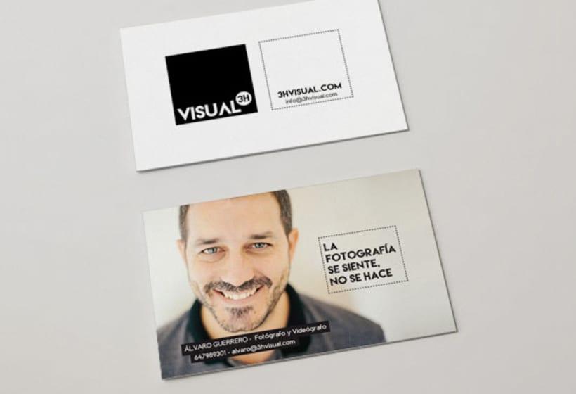 3HVISUAL. Web de fotografía en WordPress. Imagen corporativa y marketing 3
